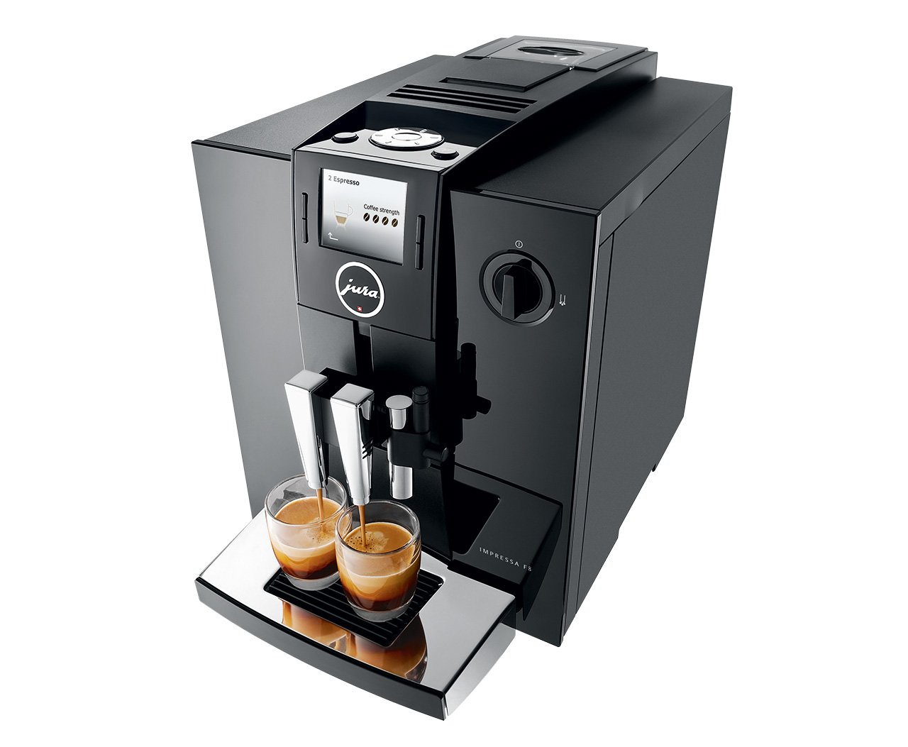 amazoncom jura impressa f8 automatic coffee machine black kitchen u0026 dining - Jura Espresso