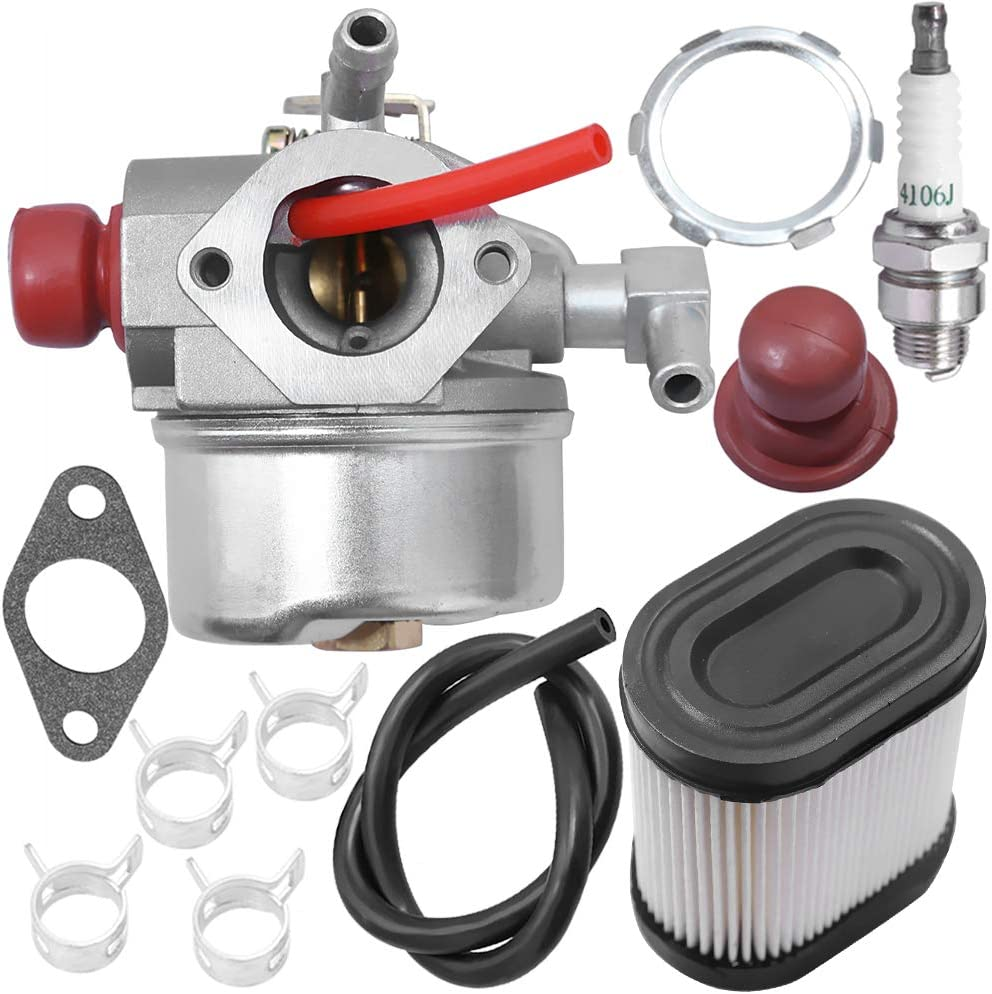 Carburetor for Toro 20016 20017 20018 20012 20070 20071 20072 20073 20074 20075 20076 20094 20096 20001 20003 20005 20007 22 inch Recycler Walk Behind Lawn Mower Tecumseh LEV100 LEV105 With Air Filter