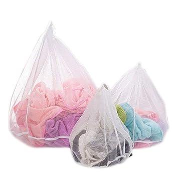 Lavandería Lavado Bolsa para la colada -3 piezas meideli resistente malla lavado lavandería bolsa blusa, medias, medias, ropa interior, sujetador y ...
