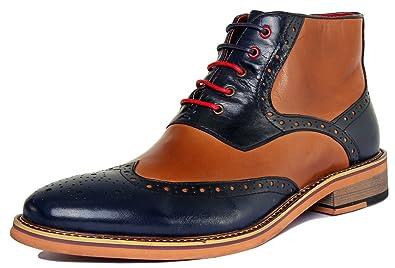 Amazon Justin Chaussures Matt À De Pour Ville Lacets Reece Homme 4q4wzPx