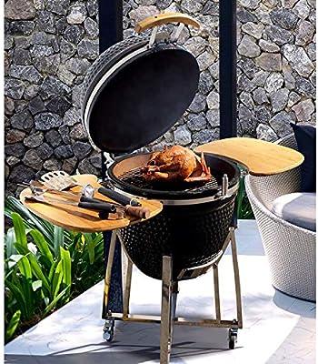 Super Grills - Kamado de 53 cm, parrilla para barbacoa de cerámica ...