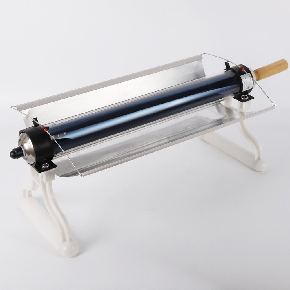 TUQI Portable Stainless Steel Solar Stove Oven Smokeless,All Seasons Sun Cooker BBQ Grill Picnic Food Heater Kebab