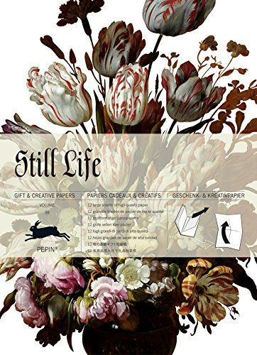 Still Life : Gift and creative paper book Vol 59 (Press Pepin)