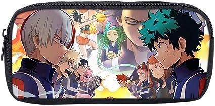 Estuche Anime My Hero Academia de ALTcompluser, para niñas, adolescentes, estuche escolar para estudiantes, escritorio y organización de oficina, color Class A - 4: Amazon.es: Oficina y papelería