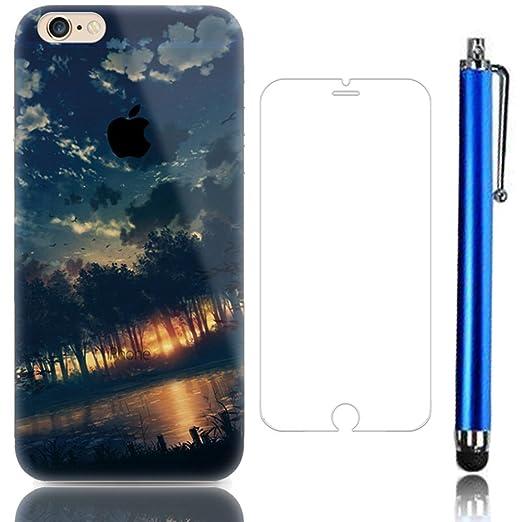 27 opinioni per Sunroyal® Creative 3D TPU Custodia per Apple iPhone SE 5 5S Trasparente Chiaro 3