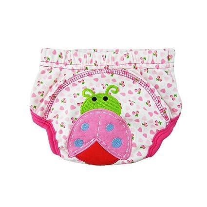 Bebé Pañales leakproof Inodoro Orinal Pee pantalones de entrenamiento para dibujos animados Práctico Impermeable algodón cómodo