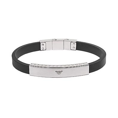 schnell verkaufend neue niedrigere Preise hohes Ansehen Emporio Armani Herren-Armband EGS1882040: Amazon.de: Schmuck