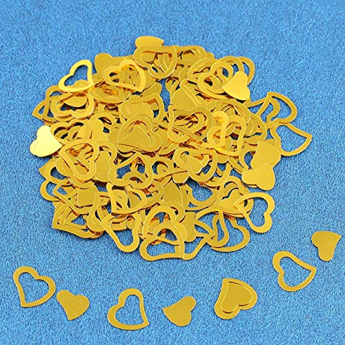 Supplies Party - 1pack Hollow Heart Shaped Confetti Sequins Solid Love Paper Scrap Wedding Birthday Party Decoration - Shoes Summer Amrmaid Jasmine Year Baby Party Unicorn Wedding Gril Superhero]()