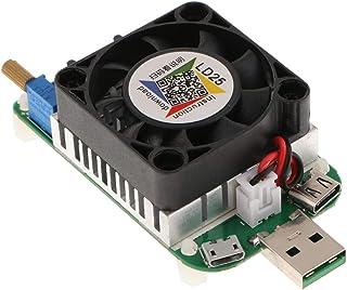 Homyl Tester Carico Elettronico USB Corrente Tensione Scarica LD25 Nero