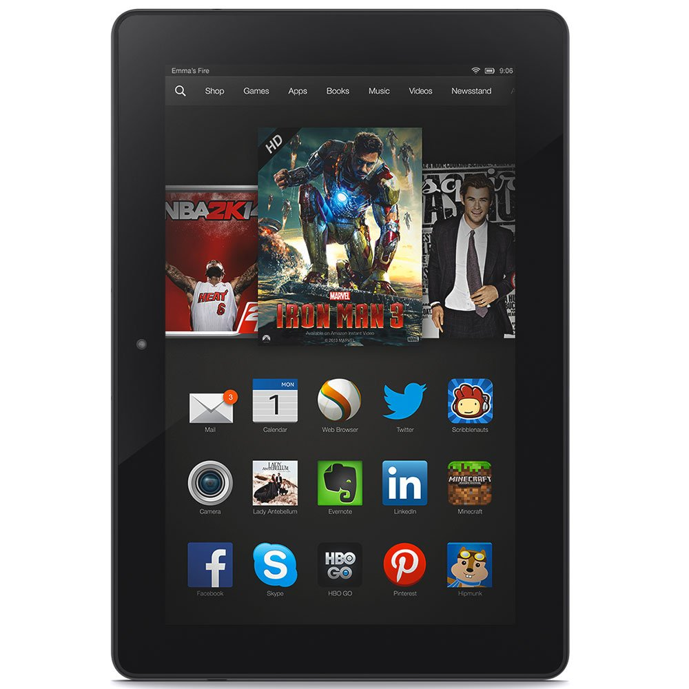 "Kindle Fire HDX 8.9"" 3rd Generation"