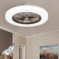Ventilador De Techo LED 90W Luz Del Ventilador Invisible Plafon Con Iluminación…