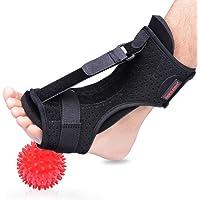 Plantar Fasciitis Night Splint Foot Drop Orthotic Brace, Adjustable Elastic Dorsal Night Splint For Plantar Fasciitis…