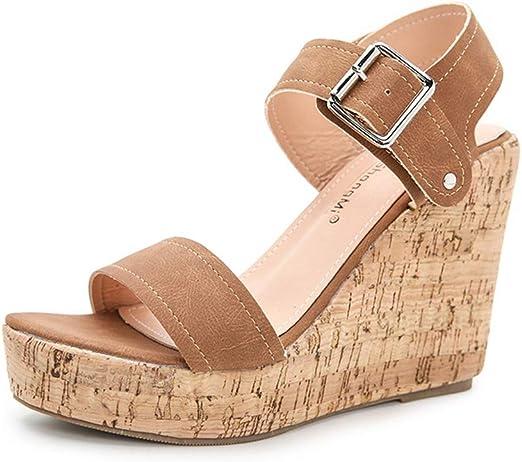 Ladies Sandals Summer High Heel Sandals