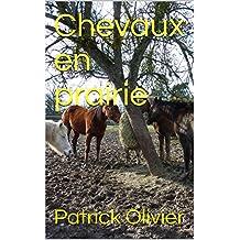 Chevaux en prairie (French Edition)