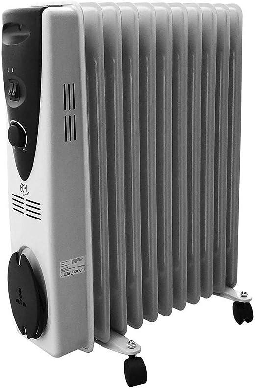 Radiador de Aceite 2500 W - 11 elementos: Amazon.es: Hogar