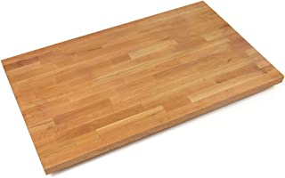 "product image for John Boos Blended Cherry Butcher Block Countertop - 1-1/2"" Thick, 109"" L x 27"" W, Natural Oil"
