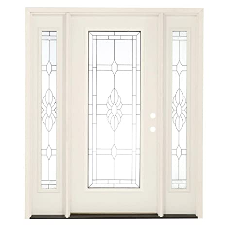Feather River Doors Sapphire Full Lite Primed Smooth Fiberglass
