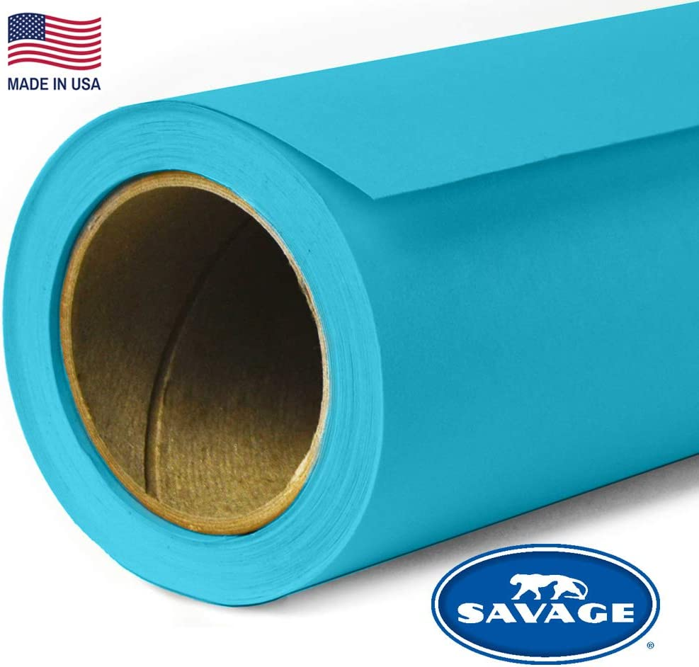 Savage Seamless Background Paper - #75 True Blue (53 in x 36 ft)
