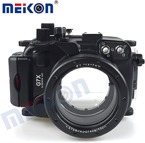 Nuevo diseño funda de cámara para buceo bajo el agua Funda para Cámara impermeable cámara Vivienda para Canon G7 X: Amazon.es: Electrónica