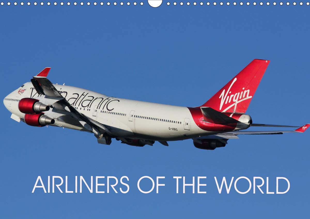 Airliners Of The World  Wall Calendar 2020 DIN A3 Landscape