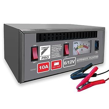 Auto7 708.955 - Cargador de batería 100% automático 10 A 6 ...