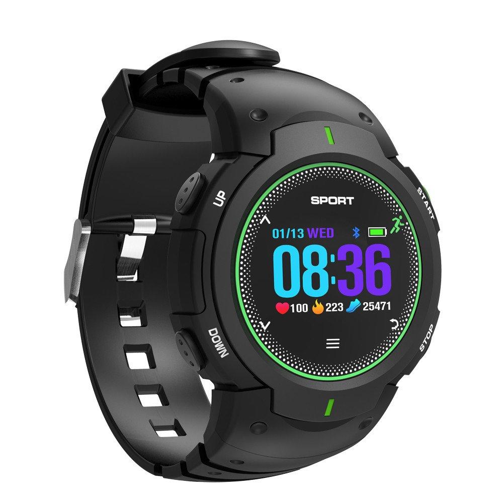 Cebbay Reloj Inteligente Detector de Ritmo cardíaco Impermeable F13 Reloj Deportivo Reloj electronico Reloj led para iOS Android: Amazon.es: Electrónica