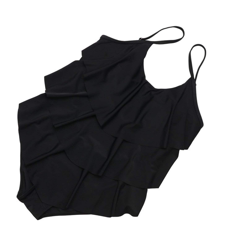 Amazon.com: Swimsuit Mature Women Cover Belly Swimwear ...