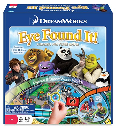 Dreamworks Eye Found It! Game - Eye Cat Spy