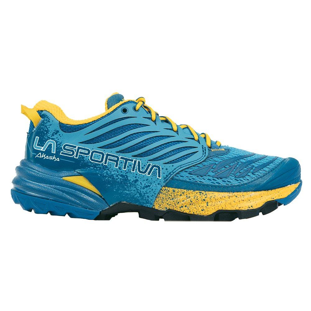 La Sportiva Akasha Women's Trail Running Shoe, Fjord, 39