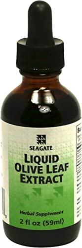Seagate Products Olive Leaf Extract Liquid 2 Ounces
