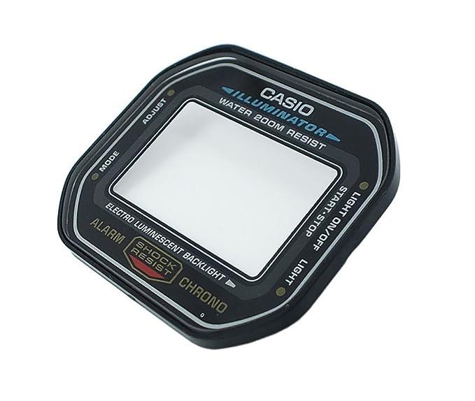 Casio Reloj Cristal Mineral Cristal de Cristal con Anillo de sellado de repuesto para DW 5600 94801216: Amazon.es: Relojes