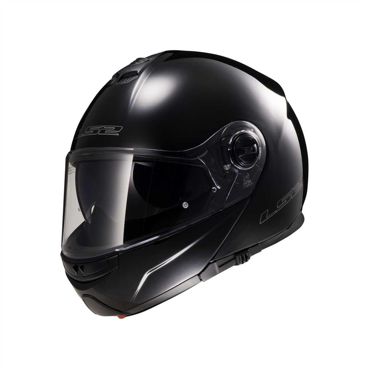 Tama/ño XXL LS2 503251012XXL FF325 Casco Strobe Solid Color Negro