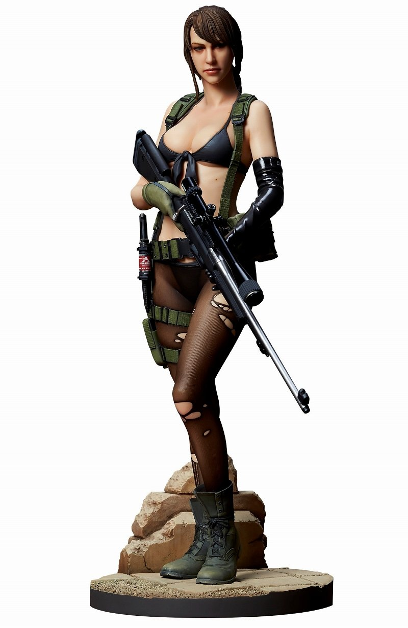 Metal Gear Solid V The Phantom Pain - Quiet [Gecco]