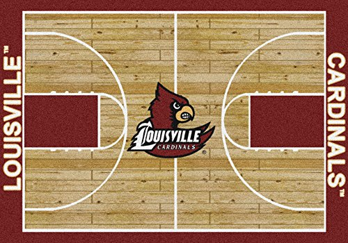 - Louisville Cardinals Home Court Rug Louisville Cardinals (Lane Color: Red)