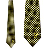 Pittsburgh Pirates Mens Diamante Necktie by Eagles Wings