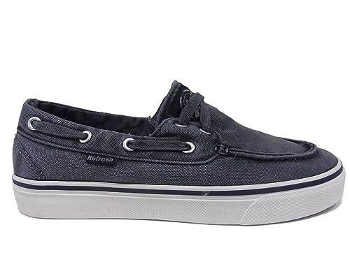 Refresh - Mocasines de tela para hombre azul turquesa azul Size: 40: Amazon.es: Zapatos y complementos