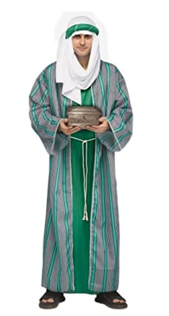 wise costume green Mens man
