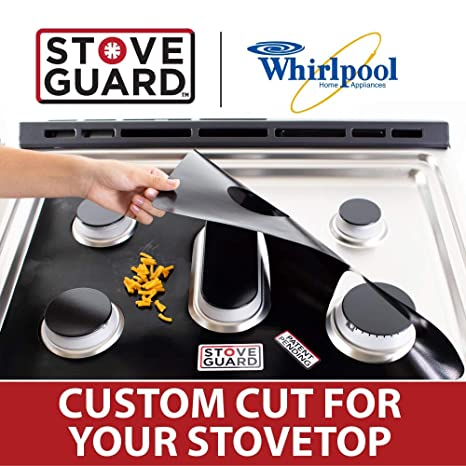 Amazon.com: Whirlpool Stove Protectors - Stove Top Protector for Whirlpool Gas Ranges - Ultra Thin, Easy Clean Stove Liner: Appliances