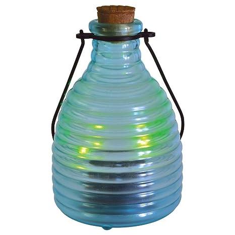 Malibu Solar LED Firefly Glass Lantern Jar Landscape Lighting  sc 1 st  Amazon.com & Malibu Solar LED Firefly Glass Lantern Jar Landscape Lighting ...
