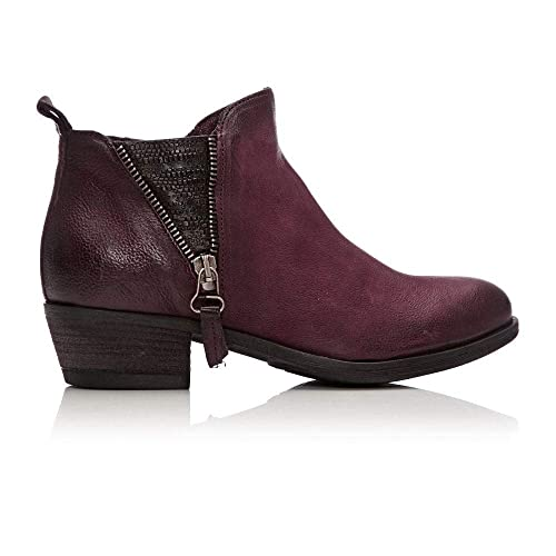 f3f9c0643cf Moda In Pelle Bestifall Burgundy Leather  Amazon.co.uk  Shoes   Bags