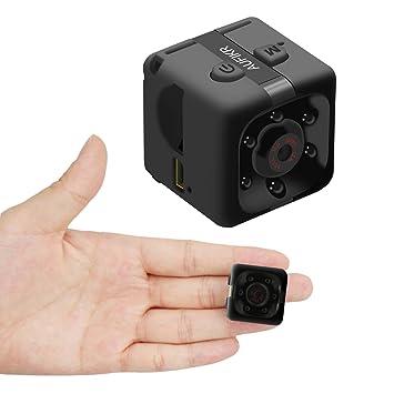 aufikr Mini cámara deportes HD DV cámara 1080P cámara de vídeo portátil con visión nocturna y
