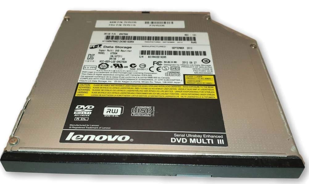 CD DVD Burner Player Drive for Lenovo Thinkpad T420 T430 T510 T520 T530 W510 W520 W530 Laptop by ((Lenovo))