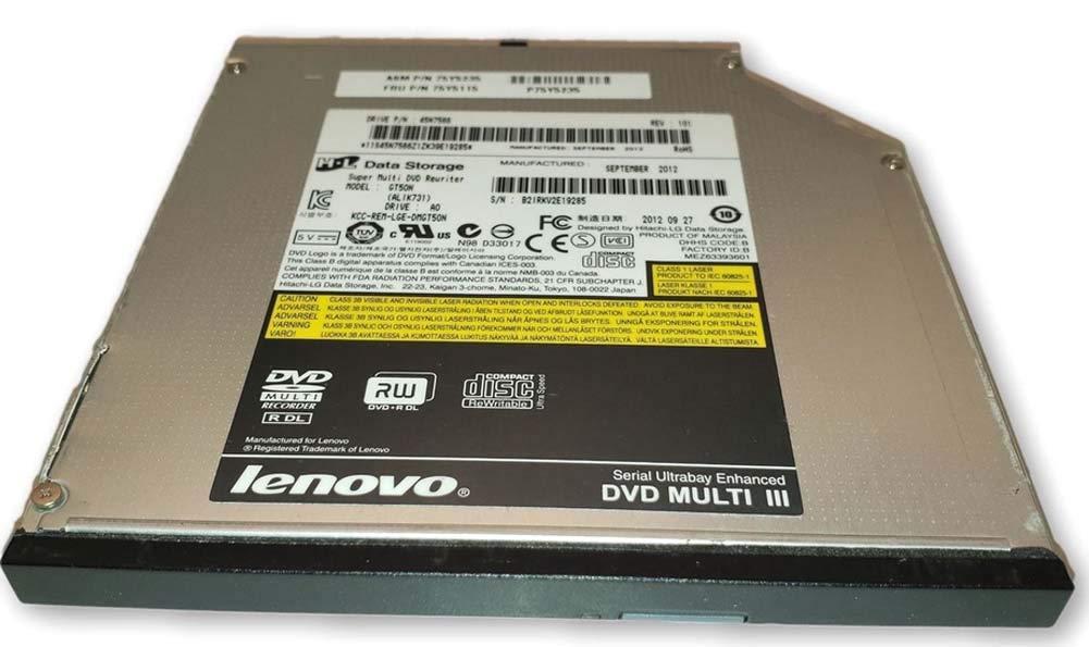 CD DVD Burner Player Drive for Lenovo Thinkpad T420 T430 T510 T520 T530 W510 W520 W530 Laptop