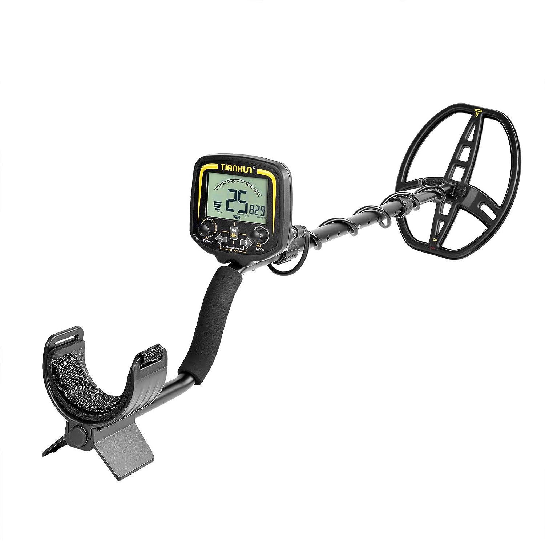 HOOMYA Detector de Metales de Alta sensibilidad Escáner de Profundidad de 2, 5 m con Pantalla LCD-TX850: Amazon.es: Jardín