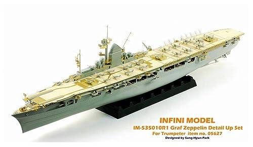 インフィニモデル 1/350 IMシリーズ ドイツ海軍 空母 グラーフ・ツェッペリン用/TR社用 艦船用ディテールアップセット プラモデル用パーツ IM53510