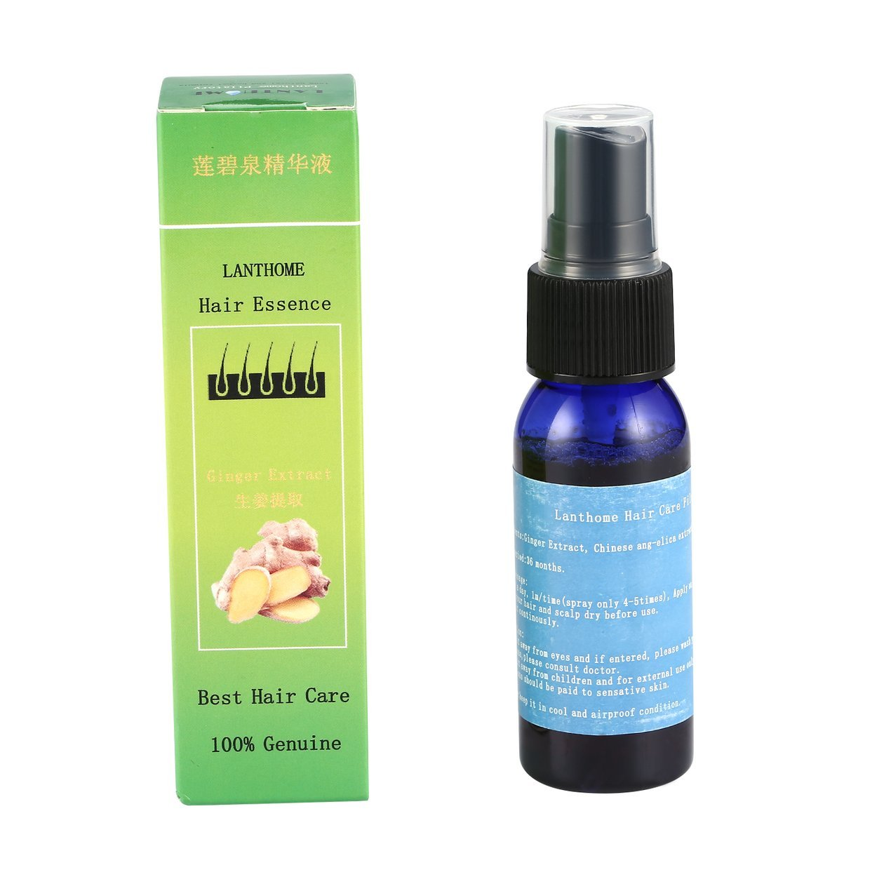 30ML Hair Fast Growth Essence Oil Natural Unisex Anti Hair Loss Hair Growth Liquid Hair Care Oil Treatment Supplies Dooret
