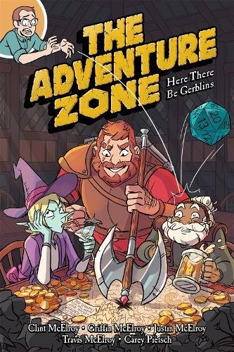 The Adventure Zone: Here There Be Gerblins cover