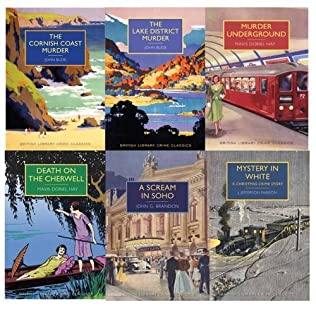 book cover of British Library Crime Clasics Collection 6 Book Set