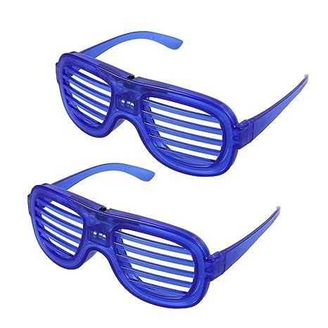 Uonlytech gafas con obturador led, gafas de sol con ...