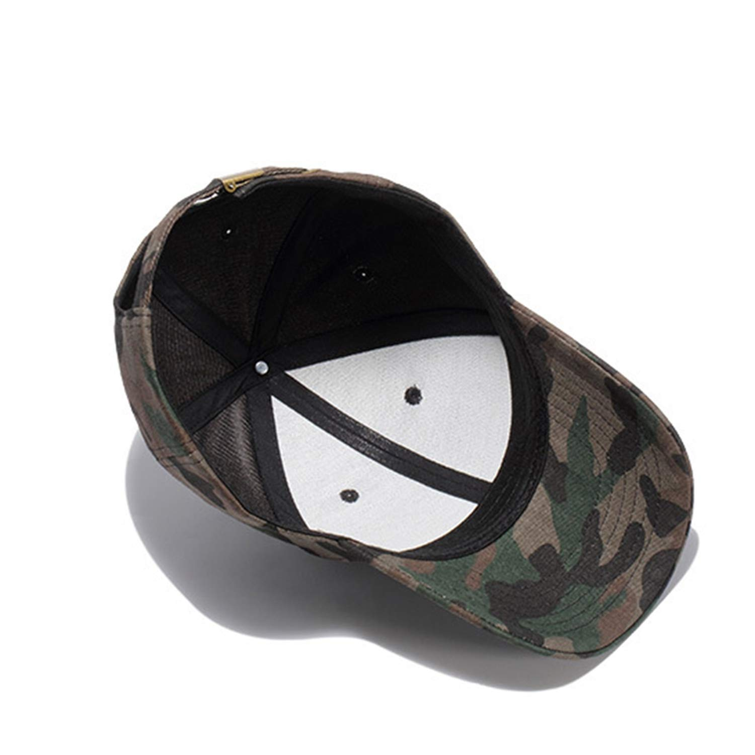 [AKIROKY] Quality Hip Hop Hats Spring Summer Men Women Baseball Cap Camouflage Snapback Bone High-Grade Cotton Sunscreen Caps, K333 Black at Amazon Mens ...